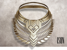 ISON - nova tribe necklace (gold)