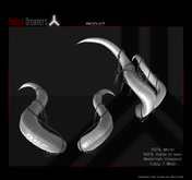 .:RD:. White Chained Horns Boxed