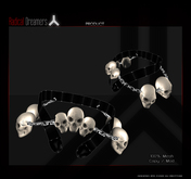 .:RD:. Skull Belt BOXED