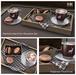 LISP Charlotte Nerd Hot Chocolate with Macaroons Set