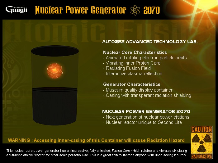 Gaagii - Nuclear Power Generator 2070 (PROMO)
