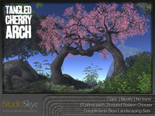 NEW Tangled Cherry Arch - 4 Season Trees  100% MESH