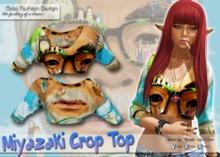 *GFD* Miyazaki Crop Top - Anime Hunt