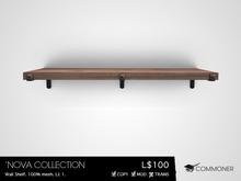 [Commoner] 'Nova Collection / Wall Shelf
