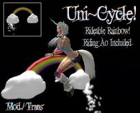 .:-CatniP-:.  Uni~ Cycle!!  Rainbow Bike