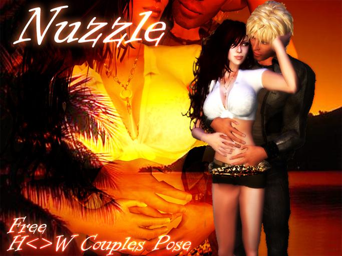 H<>W Couples Pose - Nuzzle