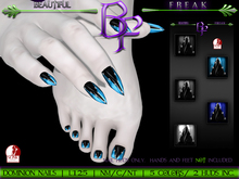 Beautiful Freak: Binary nails -