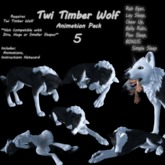 Twi Timber Wolf Animation Pack 5