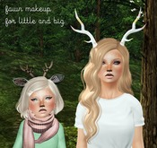 {ugly duckling} Fawn Makeup