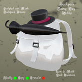 Backpack Rainy Day White
