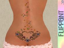 Butterfly Love Tattoo