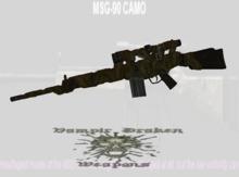 MSG 90 Sniper
