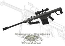 M107 .50 Caliber Long Range Sniper Rifle /