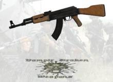 AK 47 Gun.