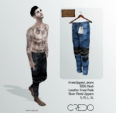 CREDO // KneeZip_Jeans_LIGHT