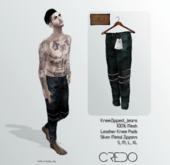 CREDO // KneeZip_Jeans_SEA