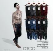 CREDO // KneeZip_Jeans_FATPACK