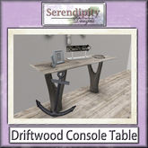 Serendipity Designs - Driftwood Console Table