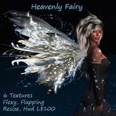 Heavenly Fairy Wings 6Txt, Flexy, Flap, Color Change