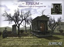 "[CIRCA] - ""Elysium"" - Apparition Crypt & Graveyard Set"