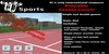 TT Sports Playable Tennis Game (red court)