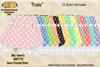 [SEW] FP Tex MI87170 Girls pleated Skirt Floral