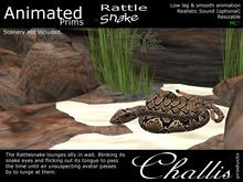 (Challis) Animated Rattlesnake (BOXED)