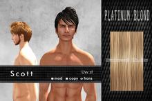 Uw.st   Scott-Hair  Platinum blond