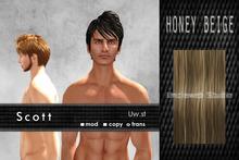 Uw.st   Scott-Hair  Honey beige