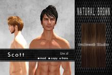 Uw.st   Scott-Hair  Natural brown