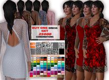 "REAL FASHION ""Choice"" lace dress"
