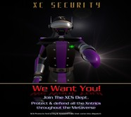 XC - Security Blank  V 1.11 Robot Avatar