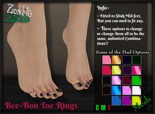 :Z.S: Bee-Bon Toe Rings