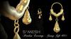 S*MESH - Pendun Earrings - Gold