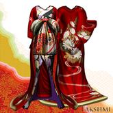[LAKSHMI]Oiran-Tamagiku/Mesh Model B(LQ)/Red