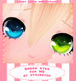 .:CandyCutie:. Dream Eyes (For M3)