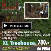 XL-Tree House COPY MODIFY Version with 3 floors