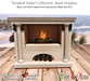 """<Heart Homes> """"Seashell Finders"""" Fireplace (C)"""