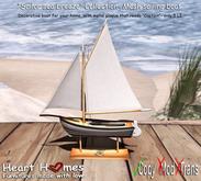"""<Heart Homes> """"Sailors Seabreeze"""" Deco Sailboat (Copy)"""