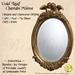 *PV* Gold Leaf Cherubs Mirror