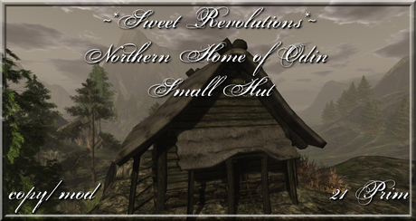 ~*SR*~ Northern Home of Odin - Small Hut Box