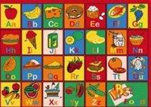 AFantasy Alphabet Kids Room Rug - BOXED