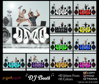 DJ Booth Prop