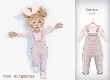 .The Blossom. Birdy Barn overall outfit Toddleedoo avatars only!