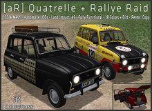 [aR] Quatrelle + Rallye Raid v1.1 Car