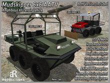 [aR] Mudskipper 6x6 AATV Off-Road Vehicle