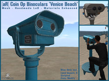 [aR] Coin Op Binoculars 'Venice Beach'