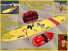 [aR] Lifeguard Equipment w/ Rescue Board