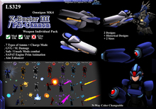 """*D&D* ZX4/ Omni-Gun MK4 """" X-Buster III / Psi-Cannon"""" (Boxed)"""