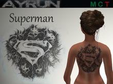 **AYRUN** Superman ::tattoo::